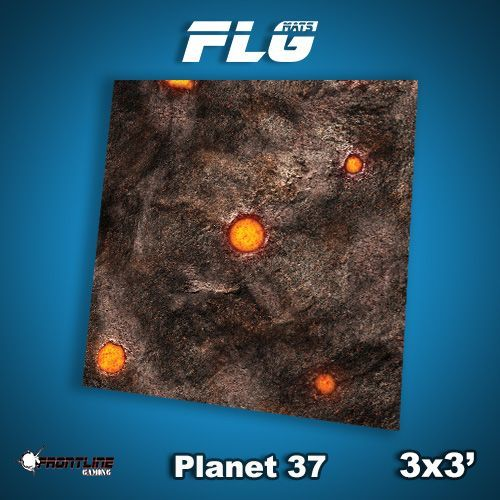 FLG Planet 37 Neoprene Gaming Mat (3x3)
