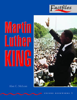 Factfiles: Martin Luther King: 1000 Headwords by Alan McLean image
