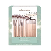Nude by Nature: Shimmer 15 Piece Brush Collection
