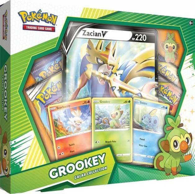 Pokemon TCG: Grookey Zacian V