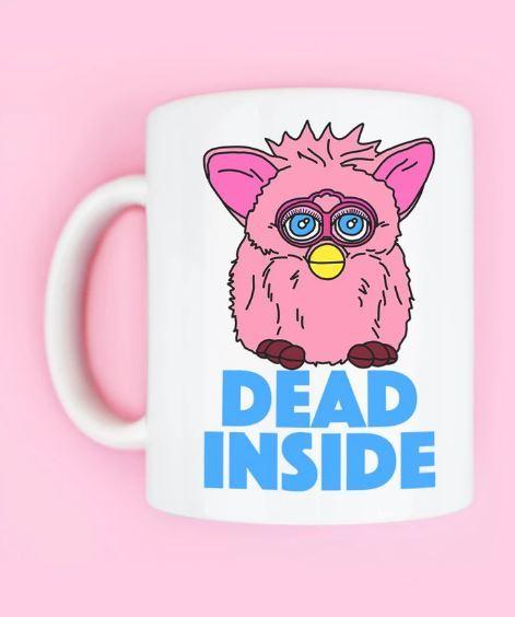 Grey Lines: Dead Inside Mug