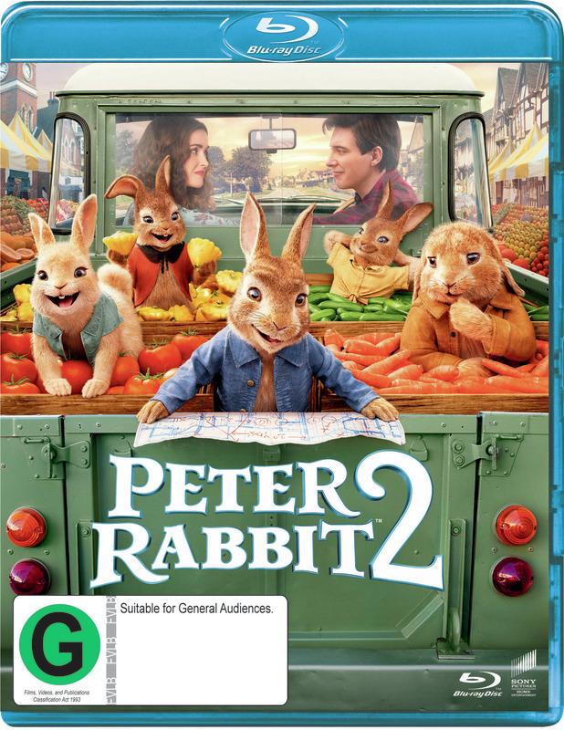 Peter Rabbit 2 on Blu-ray