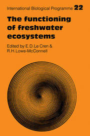 The Functioning of Freshwater Ecosystems image