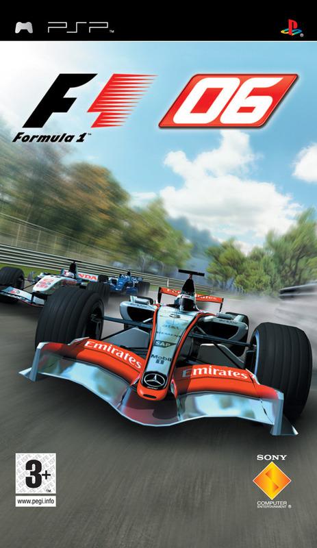 Formula One 2006 for PSP