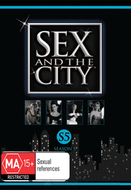 Sex And The City - Season 5 (2 Disc Set) on DVD image