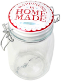 Happiness Is Home Made - Retro Jar