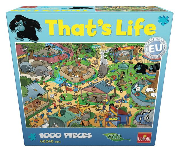 That's Life 1,000 Piece Jigsaw (Zoo)
