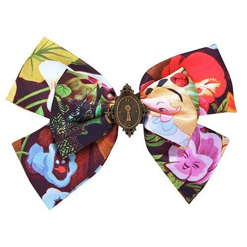Neon Tuesday: Alice In Wonderland - Enchanted Locket Hair Bow image