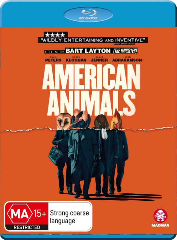 American Animals on Blu-ray