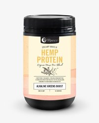 Nutra Organics Hemp Protein - Creamy Vanilla (500g)