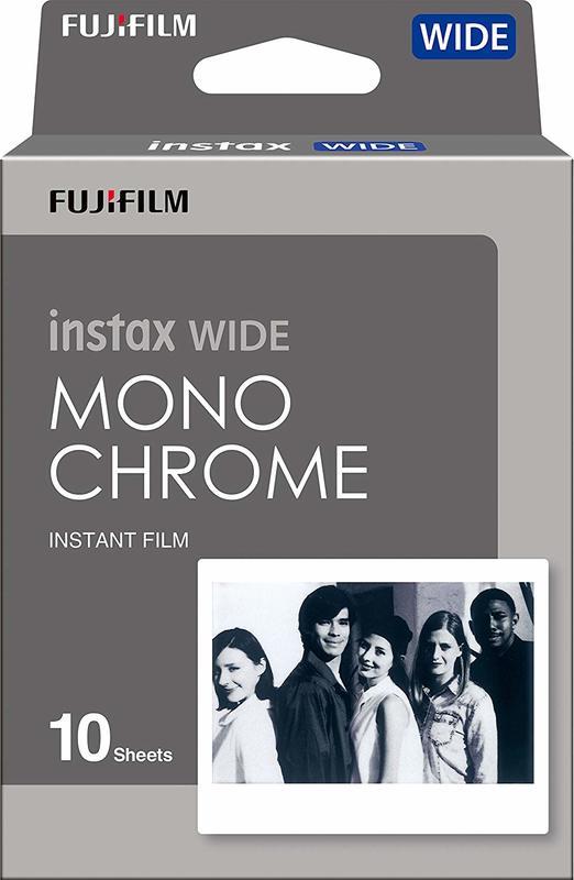 Fujifilm: Instax Wide Film - Monochrome (10 Pack)
