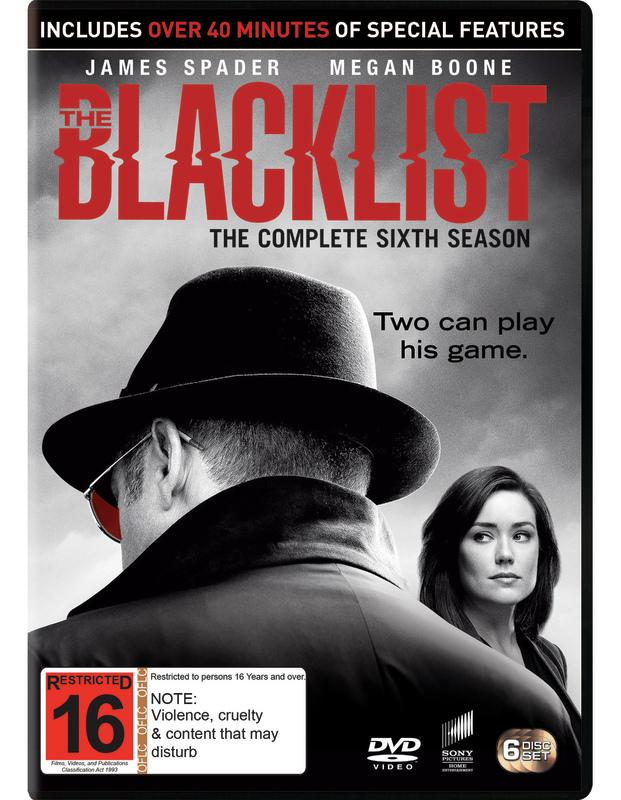 The Blacklist - Season 6 on DVD