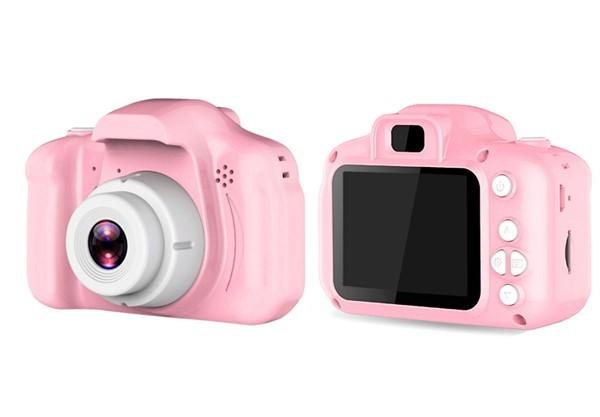 Mini Kid's Digital Video Camera - Pink