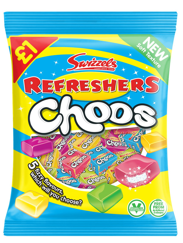 Swizzels Drumsticks Refresher Choos 150g