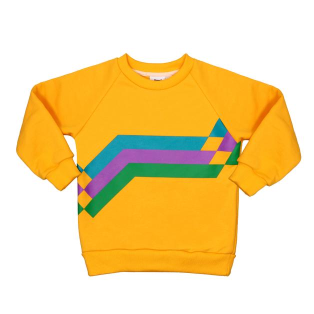 Jelly Alligator: Retro Sweatshirt - 4-5Y