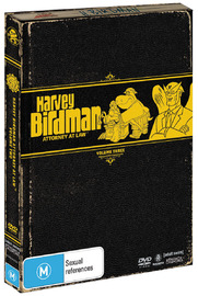 Harvey Birdman - Attorney At Law: Vol. 3 (2 Disc Set) on DVD