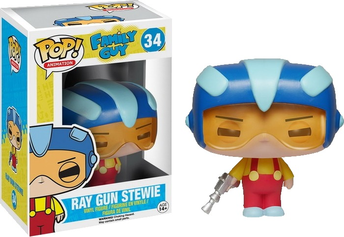 Family Guy - Stewie (Ray Gun ) Pop! Vinyl Figure image