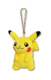 Pokemon: Plush Mascot Charm (Pikachu)