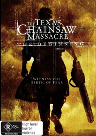 The Texas Chainsaw Massacre - The Beginning on DVD image