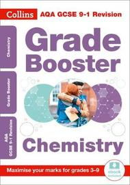 AQA GCSE 9-1 Chemistry Grade Booster for grades 3-9 by Collins GCSE image