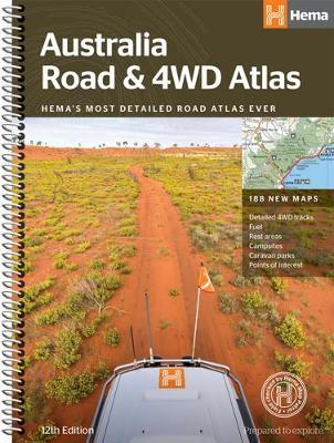 Australia Road and 4WD atlas spiral image