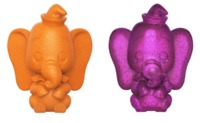 Disney: Dumbo (Orange & Purple) - Hikari XS Vinyl Figure 2-Pack