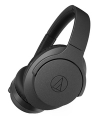 Audio Technica: ATH-ANC700BT QuietPoint - Wireless Active Noise Cancelling Headphones - Black
