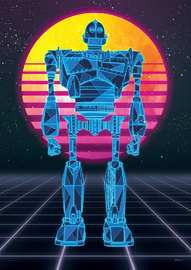 Ready Player One (80's Iron Giant) MightyPrint Wall Art