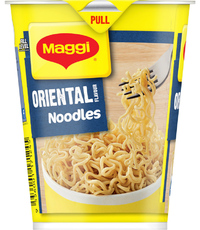 Maggi 2 Minute Cup Noodles - Oriental 58g (12 Pack) image