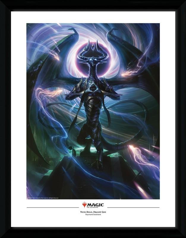 Magic The Gathering: Nicol Bolas Dragon God - Collector Print (41x30.5cm)