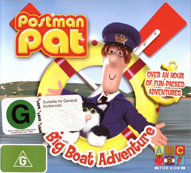 Postman Pat - Big Boat Adventure on DVD