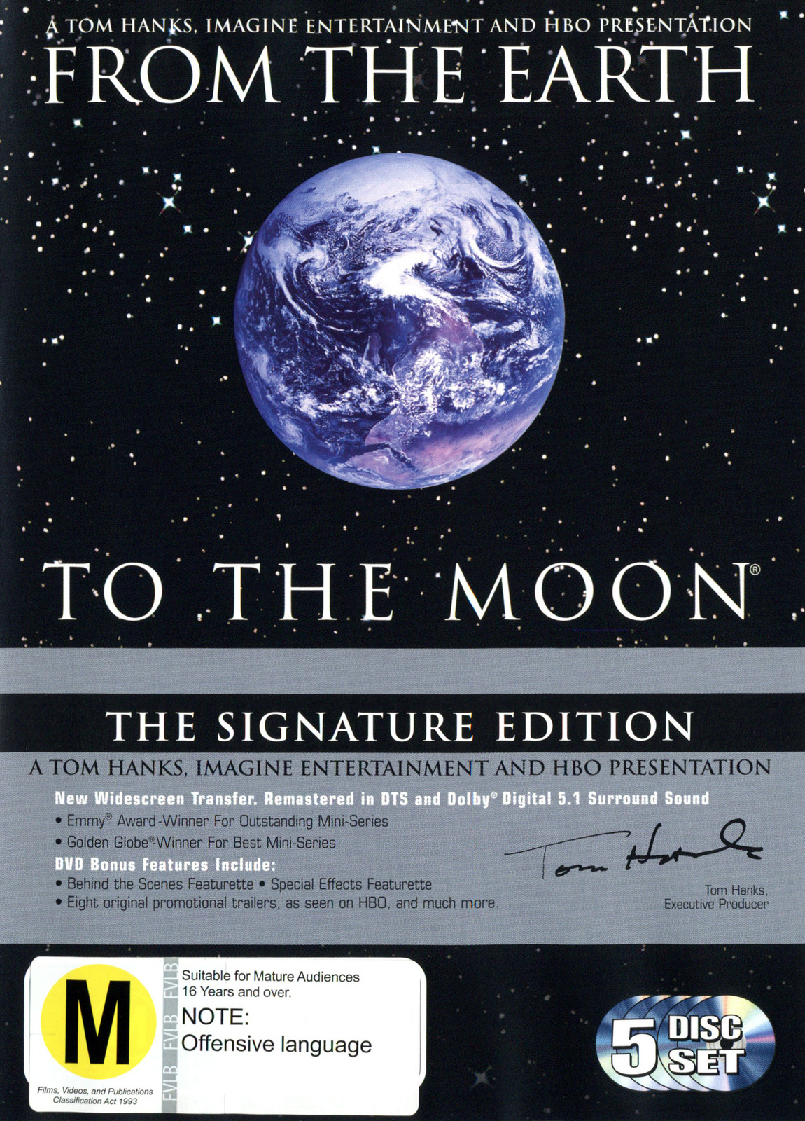From The Earth To The Moon - The Signature Edition on DVD image
