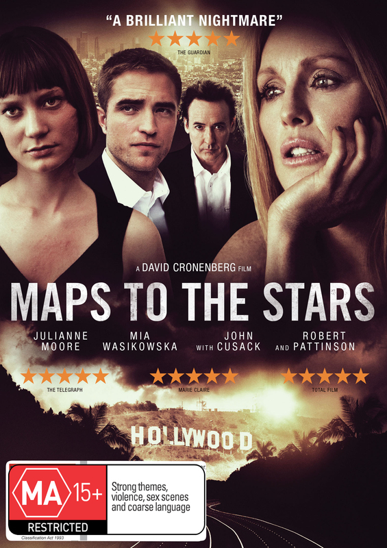 Maps to the Stars on DVD
