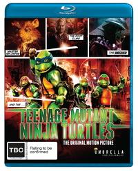 Teenage Mutant Ninja Turtles - The Original Motion Picture on Blu-ray