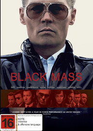 Black Mass on DVD