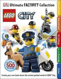 Lego City Ultimate Factivity Collection (with 500 Stickers) by DK