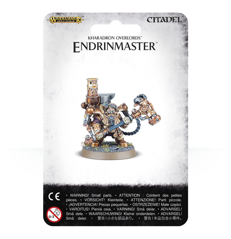 Warhammer Age of Sigmar Kharadron Overlords: Endrinmaster image