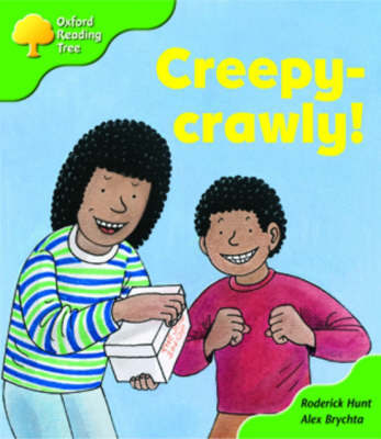 Oxford Reading Tree: Stage 2: Patterned Stories: Creepy-crawly! by Roderick Hunt image