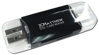 JCMatthew OTG USB Card Reader