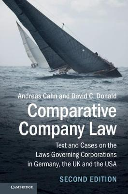Comparative Company Law by Andreas Cahn image