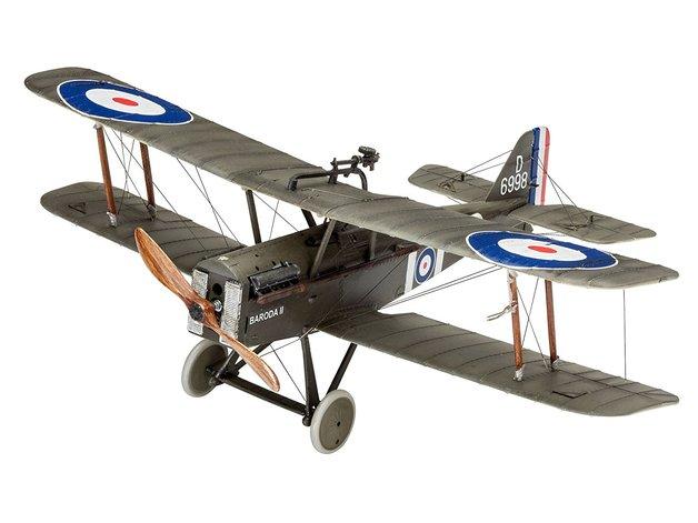 Revell 1/48 British Legends: British S.E.5a - Scale Model Kit