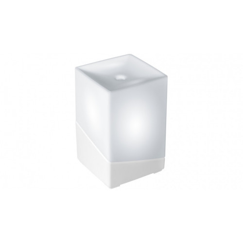 Ellia Hope Ultrasonic Essential Oil Diffuser/Colour Light Lamp (White) image