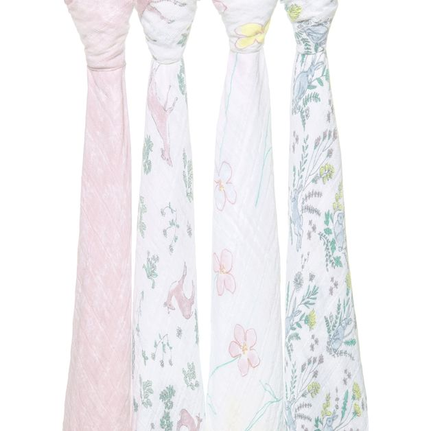 Aden + Anais: Classic Swaddle - Forest Fantasy (4 Pack)