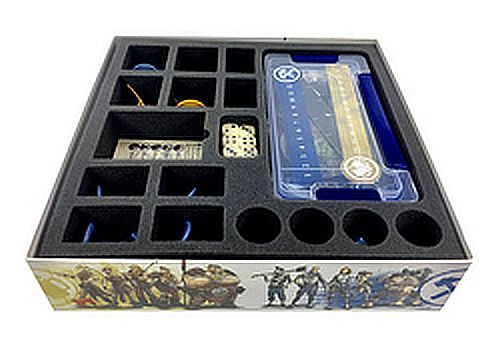 Guild Ball Kick Off Foam Tray with Benson Box