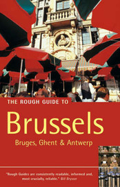 The Rough Guide to Brussels by Martin Dunford image