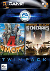 Command & Conquer Generals + SimCity 4 Twin Pack for PC Games