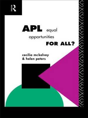 APL: Equal Opportunities for All? by Cecilia McKelvey