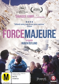 Force Majeure on DVD