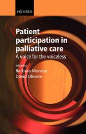 Patient Participation in Palliative Care