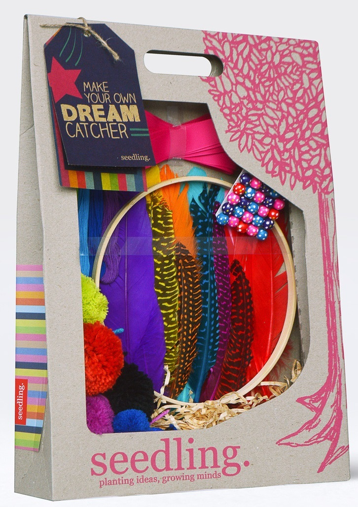 Make your own dream catcher craft kit toy at mighty for Build your own net dream